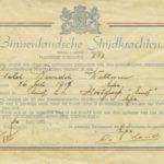 1945 Eervol ontslag BS