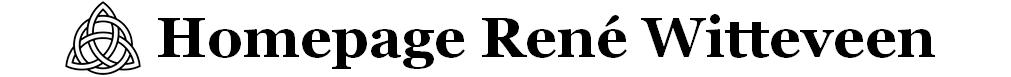 Homepage van René Witteveen
